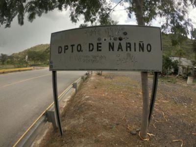 Llegando al departamento de Nariño