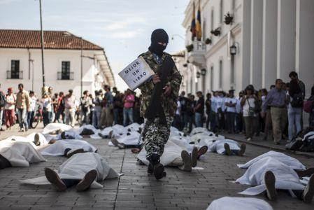 Estudiantes Protestan En Popayán