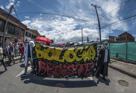 Estudiantes Protestan En Popayán (10)