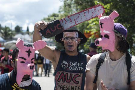 Estudiantes Protestan En Popayán (11)