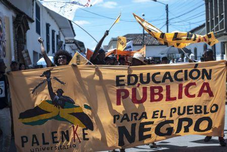 Estudiantes Protestan En Popayán (12)