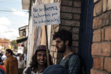 Estudiantes Protestan En Popayán (13)