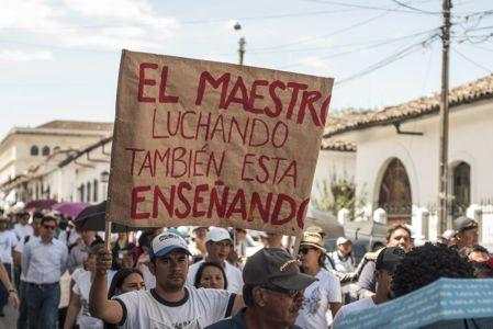 Estudiantes Protestan En Popayán (14)