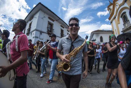 Estudiantes Protestan En Popayán (4)