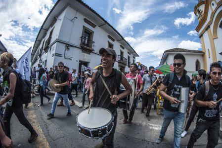 Estudiantes Protestan En Popayán (5)