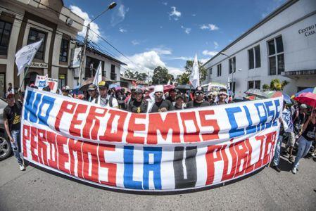 Estudiantes Protestan En Popayán (6)
