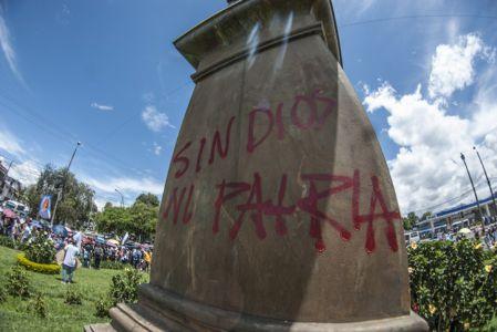 Estudiantes Protestan En Popayán (7)