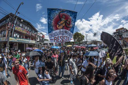 Estudiantes Protestan En Popayán (8)