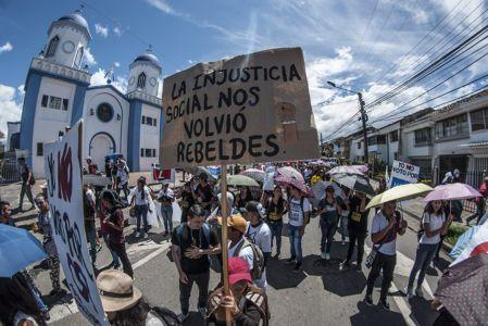 Estudiantes Protestan En Popayán (9)