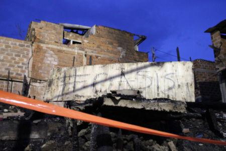 Destrozos en Moravia