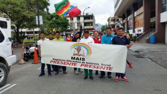 Movilización Maestros En Pereira1