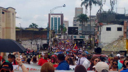 Movilización Maestros En Pereira3