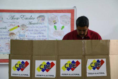 Nicolás Maduro Elecciones Venezuela 2018