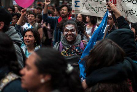 Protesta Estudiantil Bogota4