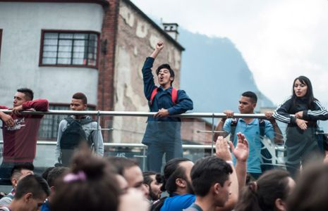 Protesta Estudiantil Bogota7