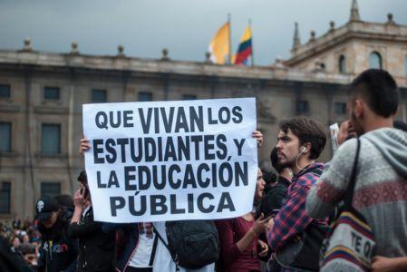 Protesta Estudiantil Bogota8