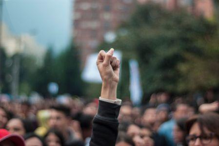 Protesta Estudiantil Bogota9