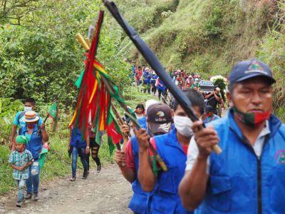 Las balas del Ejército contra el pueblo Nasa
