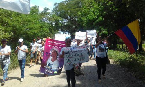 Arenal celebra libertad de líderes y lideresas