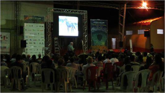 conferencia y cine