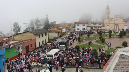 Movilización En El Peñón