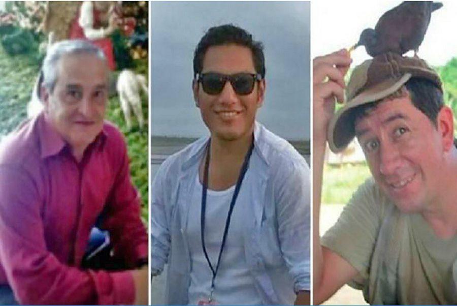 Resultado de imagen para Los tres periodistas ecuatorianos secuestrados y asesinados en colombia