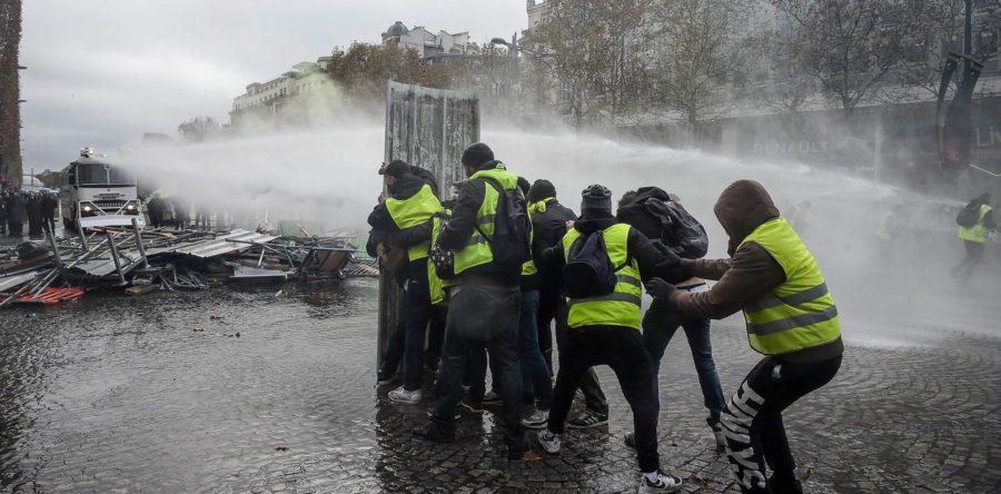 Protestas en Francia- Licenciada bajo Creative Commons