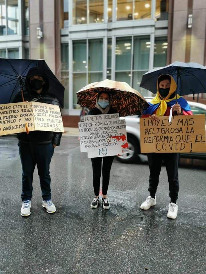 Apoyo Al Paro Montreal 7