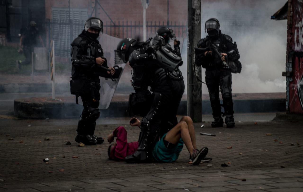 Paro 28A Represión 2