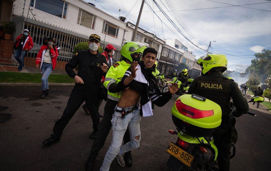 Abuso policial ¿casos aislados? - Colombia Informa Derechos Humanos