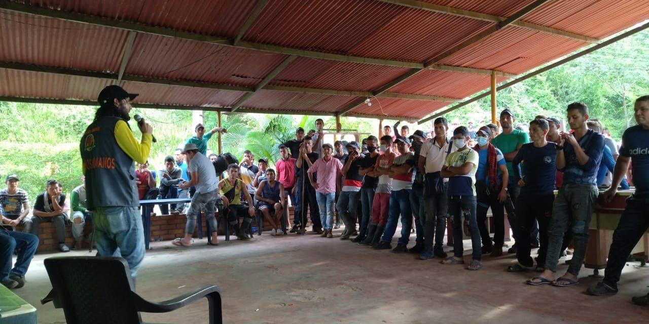 Paramilitares disparan a campesinos movilizados en el Catatumbo