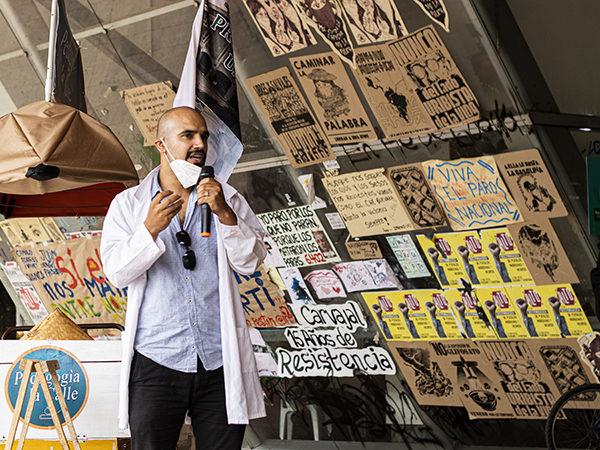 Profesores de la Universidad de Antioquia llevan Pedagogía a la Calle